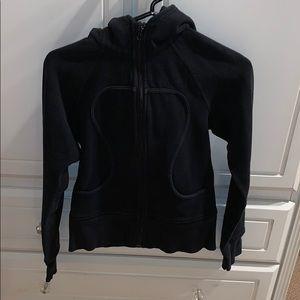 zip up lulu hoodie size 2